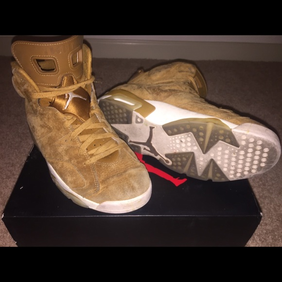 b225e8d6570 Jordan Shoes | Air Retro 6 Wheat Golden Harvest Sz 105 | Poshmark